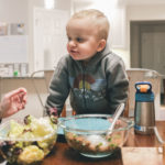 toddler cooking with food allergies