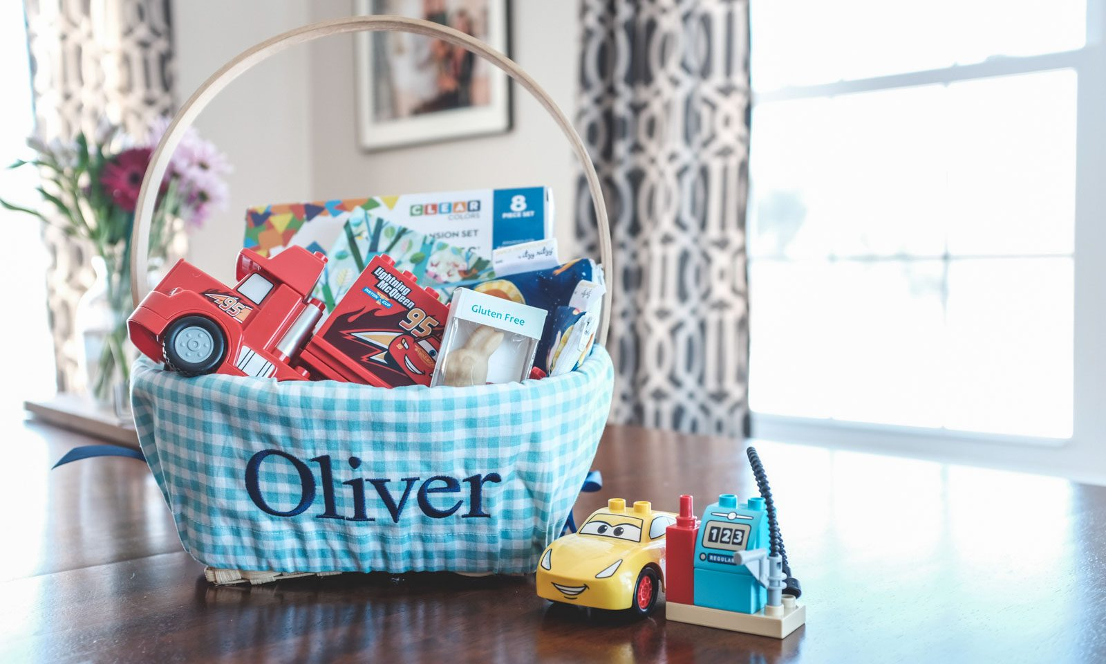 toys and books are the perfect easter basket items when celebrating easter with food allergies