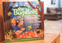 Best Food Allergy Kids Books: the Bugabees Friends with Food Allergies book