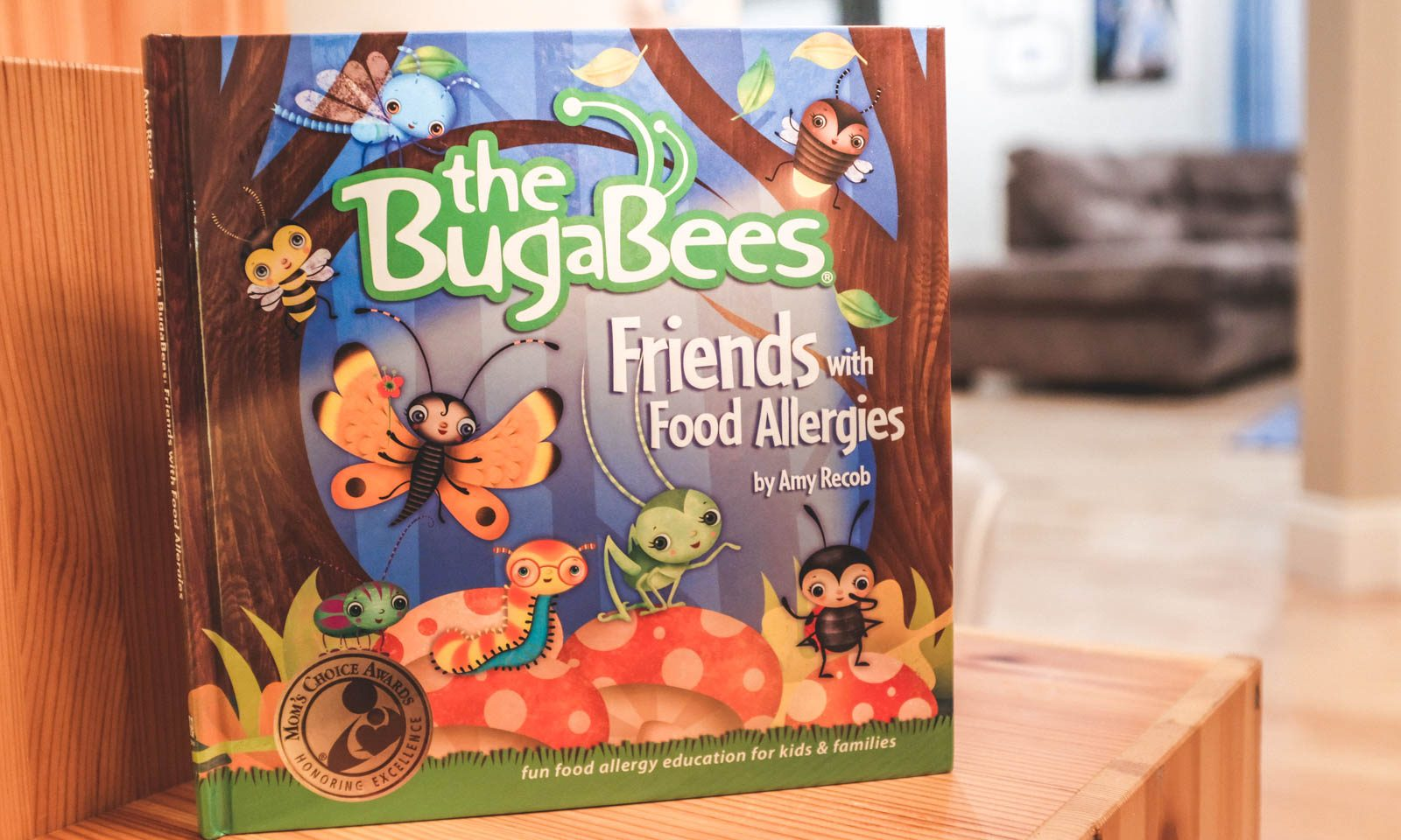Best Food Allergy Books: The BugaBees Friends with Food Allergies