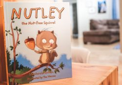 Best Food Allergy Kids Books: nutley the nut-free squirrel book
