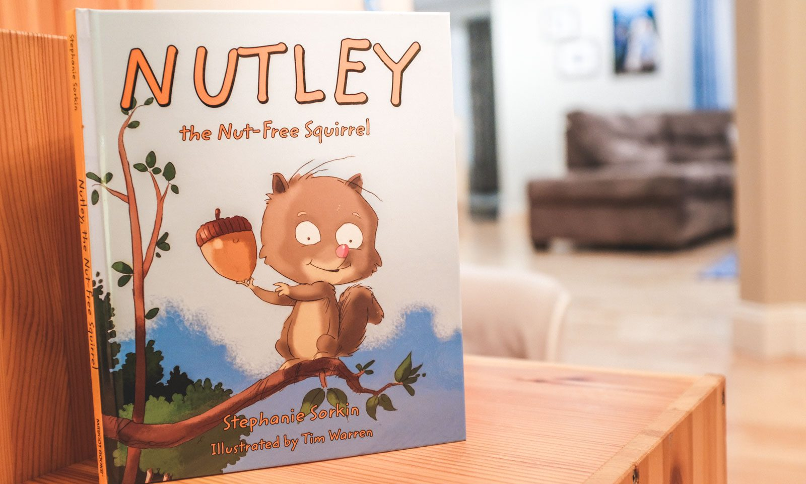 Best Food Allergy Books: Nutley the Nut-Free Squirrel