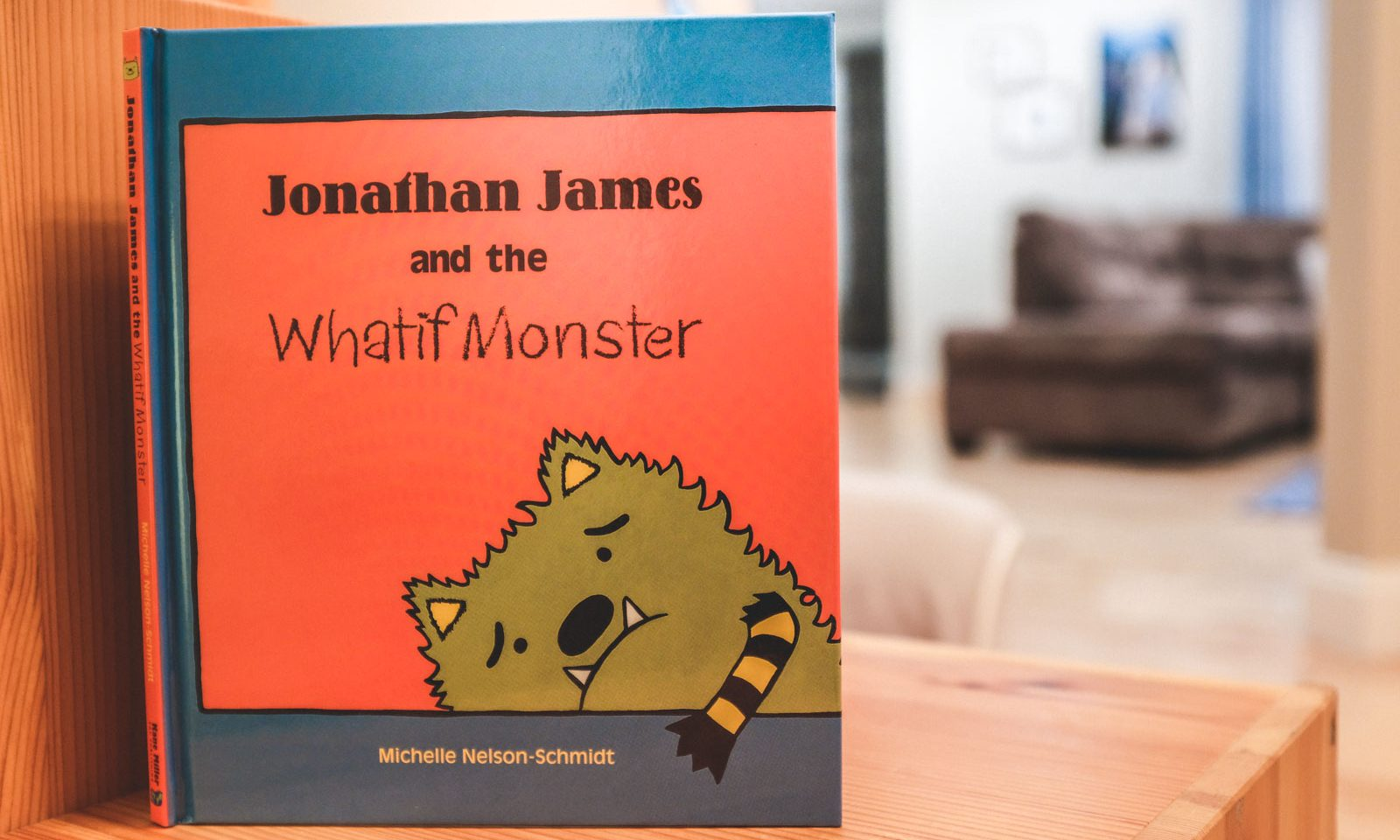 Best Food Allergy Books: Jonathan James and the Whatif Monster