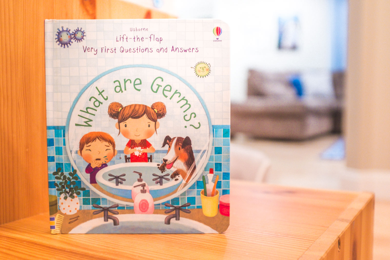 Best Food Allergy Books: What are Germs from Usborne Books and More