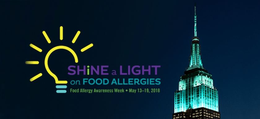 Food Allergy Awareness Week 2018 is May 13th to 19th