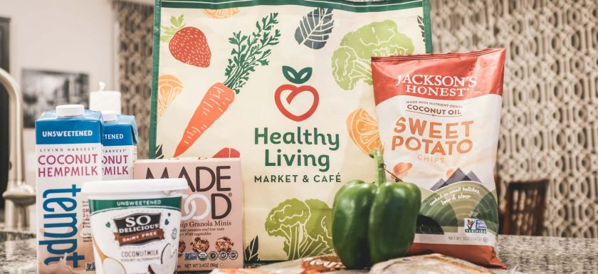 food from allergy-friendly grocery shopping at Healthy Living