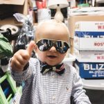 Ollie gives a thumbs up to food allergy conversations