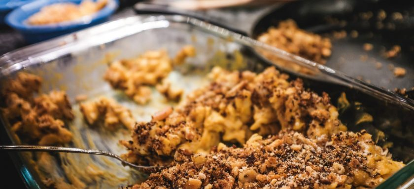 vegan mac and cheese with butternut squash and sweet potato