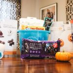 All of the goodies we are using to make Halloween with food allergies safe and fun