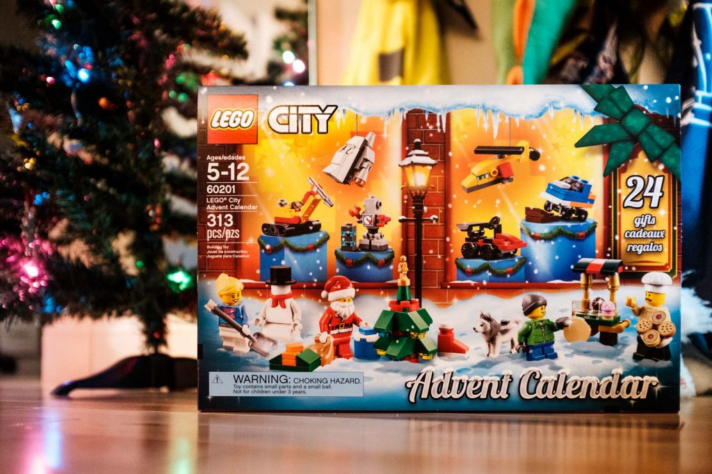 lego city allergy-friendly advent calendar